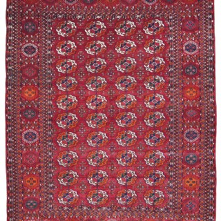 Antique Tekke Bokhara carpet