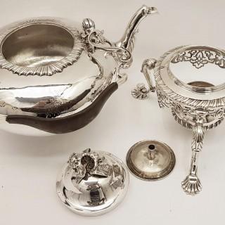Antique George II Silver Kettle