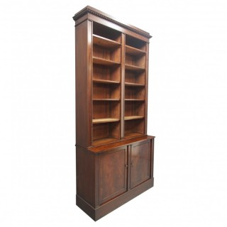 Mahogany Open Bookcase by William Trotter