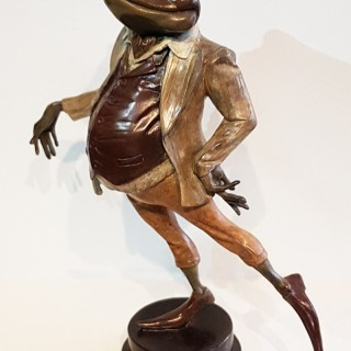 Mister Toad - Bronze Sculpture for 'The Wind in the Willows'
