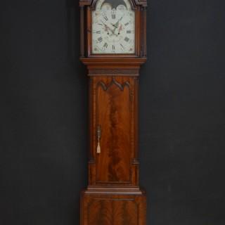 Fine Georgian Longcase Clock by Collier, Eccles