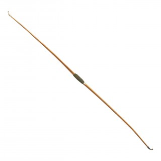 Antique Yew Wood Archery Longbow By Thomas Aldred.