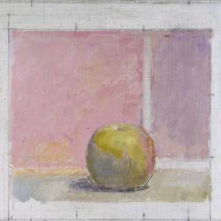 Apple on Pink