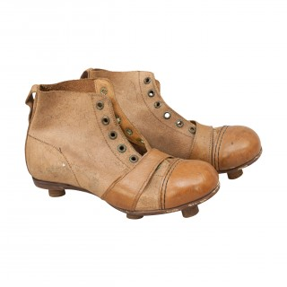 Leather Childs Football Boots, Rare