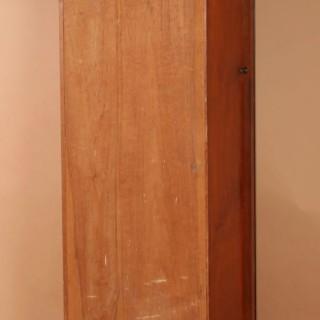 An Art Deco Modernist Junghans Teak/Amaranth And Chrome Very Stylish Westminster Longcase Clock. Circa 1940.