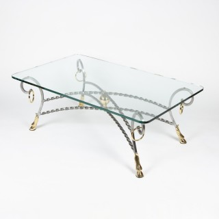 HOOF FOOT COFFEE TABLE