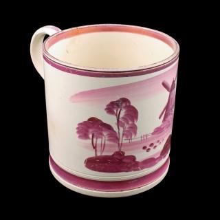 Staffordshire Pottery Lustre Tankard