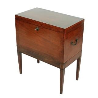 Georgian Mahogany Box on Stand
