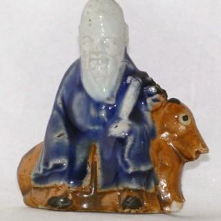 Yongzheng biscuit Porcelain Figure