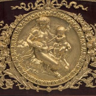 A Fine Louis XVI Style Commode À Vantaux After a Model By Guillaume Benneman and Joseph Stöckel with Bronze Mounts by Léon Kahn