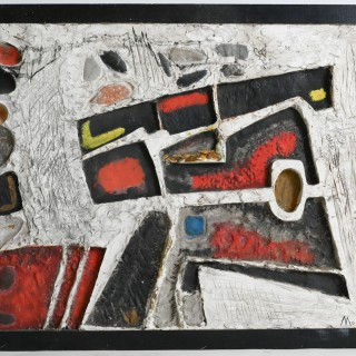 Abstract composition by Maurice Quinson