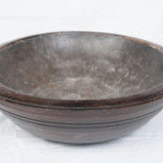 Treen Bowl With Liner, Wales, 1800