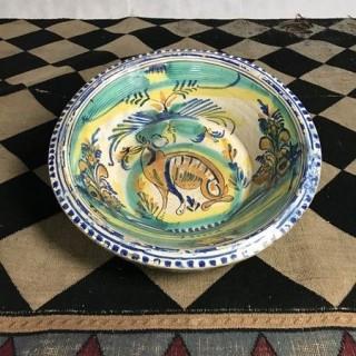 Large Decorative Spanish Dish