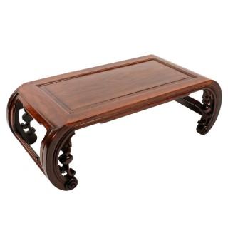 Chinese Huanghuali Kang Table