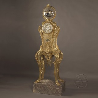 A Highly Important Louis XV Style Astronomical Regulator Clock
