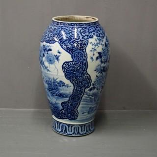 Large Meiji Vase