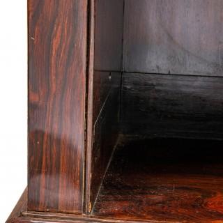 Regency period open bookcase, circa 1820