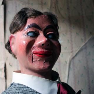 A Rare Cased c.1932 Ventriloquist's Dummy By Arthur Quisto