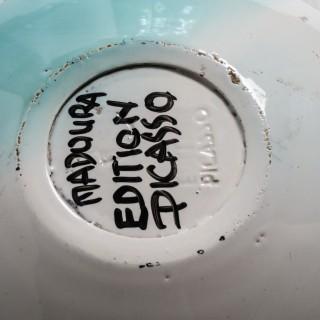 """""""Toros"""" ceramic plate by Pablo Picasso for Madoura"""