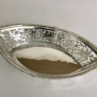 Arts and Crafts Silver Dish