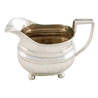 Georgian Style Silver Cream Jug