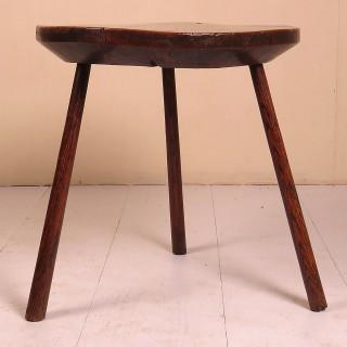 18th Century Burr Ash Dairy Table