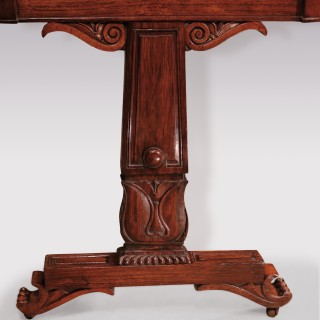 19th Century Regency period  rosewood Writing Table.