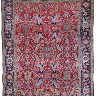 Antique Heriz carpet
