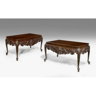 A Pair of 19th Century Irish Serving Tables