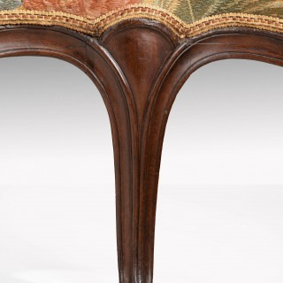 A George III Period Mahogany Framed Tapestry Sofa