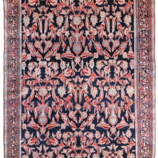 Dated 1903 - Antique Baktiari carpet, Shalamazar