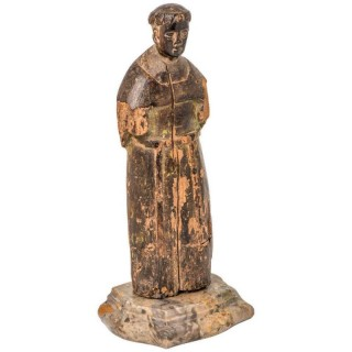 Small lime wood carving, 16th century