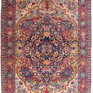Antique Kirman rug