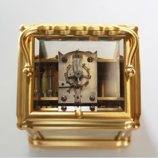 Grande sonnerie Carriage Clock by Leroy