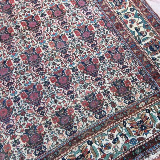 Antique Abadeh carpet