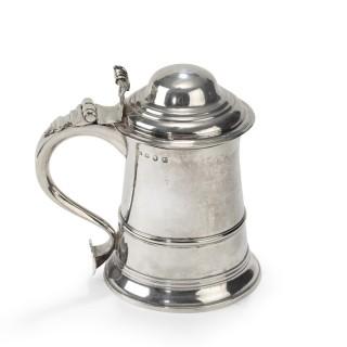 An Early George III Silver Tankard