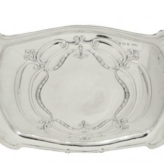 Antique Sterling Silver Dressing Tray 1912