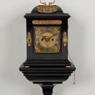 John Barnett, a rare William  & Mary period miniature table clock