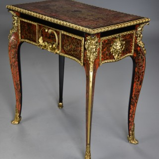 Superb quality English early 19th century 'Boulle' centre table in the French style