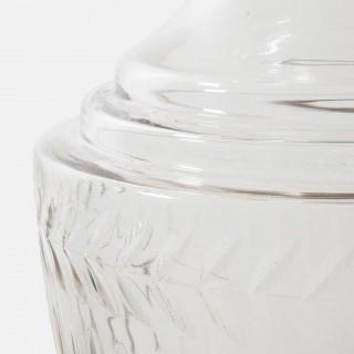 Large Edwardian, Cut Glass Apothecary Jar, circa 1910
