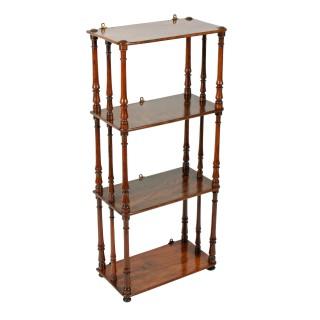 Victorian Walnut Hanging Shelves