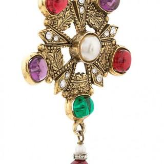 Chanel Byzance Vintage Haute Couture Necklace 1984
