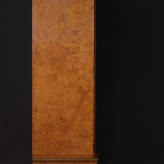 Victorian Burr Elm 2 Door Wardrobe by Lamb of Manchester