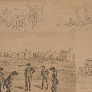 Royal And Ancient St. Andrews Golf Print