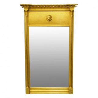 George IV Gilded Mahogany Pier Mirror