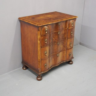 George II Style Walnut Chest of Drawers