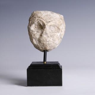Sumerian Stone Plaque of Mother Goddess Nammum