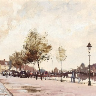 A Busy Street, North Holland