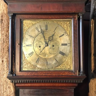 Oak long Case Clock Circa 1750
