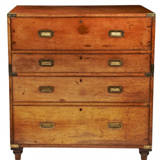 Campaign Chest by S.W. Silver Secretaire